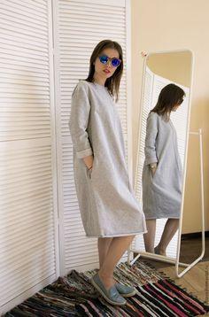 Платья ручной работы. футер 022. Одежда Говорит (ByShevtsova). Интернет-магазин Ярмарка Мастеров. Пижама, трикотажное платье, трикотаж