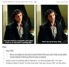 We know sherlock!