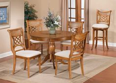 Hillsdale Bayberry - Glenmary Counter Height Gathering Table - Oak Price: $459.00