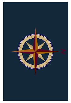Here Is A Rendering For A Custom Made Compass Rose Rug. Hand Tufted Of 100