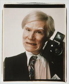 'Andy Warhol...original selfie queen.'
