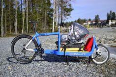 Cargo bike: Bullitt on spring ride