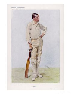 """Reginald Herbert Spooner was one of the leading cricketers of what was known as the """"Golden Age"""" of English Cricket before World War One."""