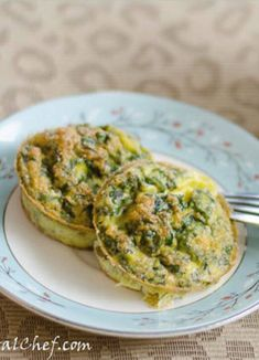 Paleo Kale and Chives Egg Muffins Recipe