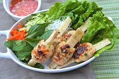 Seasaltwithfood: Grilled Shrimp On Sugarcane
