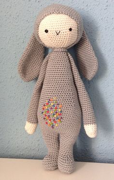 easter bunny - free pattern