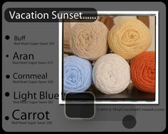 crochet+color+combinations | Crochet color combo