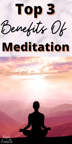 Top 3 Benefits Of Meditation - Real Time - Diet, Exercise, Fitness, Finance You for Healthy articles ideas Meditation Mantra, Meditation Benefits, Mindfulness Meditation, Guided Meditation, Chakra Meditation, Meditation Music, Wellness Tips, Health And Wellness, Mental Health