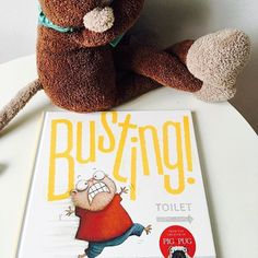 "#Repost @boxformonkeys  READ: Busting by Aaron Blabey Is there any books of Aaron's that are not hilarious?   'Lou was BUSTING for the loo.  But YIKES! The loo had quite a queue.  What on earth was Lou to do? ""I need the loo!"" screamed poor old Lou.  ""We need it too"" replied the queue.  ""I need it MORE!"" cried Lou. ""I DO!""  ADULTS: Will find the hysterical laughing of their monkeys heart warming. It's silly and fun to read. The pictures are brilliant and the facial expressions of poor old…"