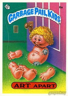 GEEPEEKAY.com - Original Series 1 Gallery - Garbage Pail Kids