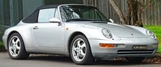 Porsche 993 Carrera Cabriolet – 1994