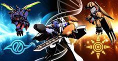 Digimon Dragon's Shadow: Wargreymon Metalgarurumon Omnimon