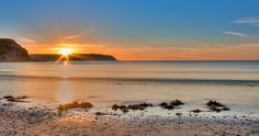 """""""The Orange Glow"""" : Today's Sunset at the Bay in Wellington, NZ - Plimmerton Beach, not often called """"the Bay""""! Moon Rainbow, Sunrise Pictures, Beautiful Places, To Go, Glow, Outdoors, Sunset, Orange, Beach"""