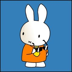 It was true, Miffy never did look back in anger. Dutch Rabbit, Rabbit Life, Japanese Folklore, Miffy, Honey Bunny, Funny Bunnies, Book Illustration, Childrens Books, Fairy Tales