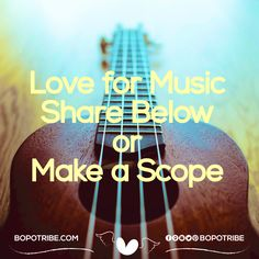 #bopodailytopic love music