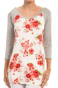Floral Print Shirt #shepaisy