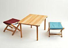 国産の杉やヒノキ素材にこだわった、優しいキャンプアイテムたち in ... peregrine-donkey-table