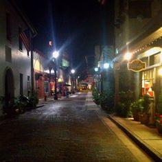 Aviles Street. St. Augustine, FL