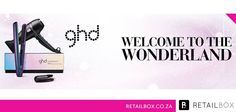 With Christmas just around the corner, why not tick some of the to do's off of your list early and purchase the Ltd Ed Wonderland Gift set for your loved one. The gift set contains a full size Ltd Ed ghd Air and Styler. Ghd Hair Straightener, Retail Box, Cool Hairstyles, Wonderland, Hair Care, Corner, Gift, Christmas, Products
