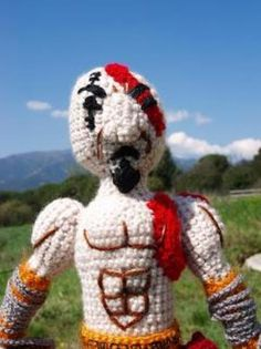 Kratos crochet, godof war