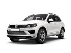 Check out this great Volkswagen Touareg Diesel Estate 3.0 V6 TDI BlueMotion Tech 262 R Line 5dr Tip Auto, 4x4 business lease car deal