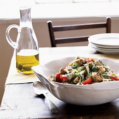 Bread Salad with Tomatoes and Olives | Food & Wine