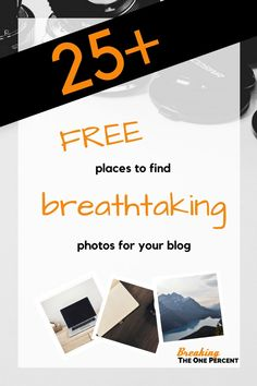 Need free stock photos for your website or online business? Check out this list of the best 27 sites offering free high resolution photos for you to use. Facebook Marketing, Content Marketing, Media Marketing, Affiliate Marketing, Make Money Blogging, How To Make Money, Blogging Ideas, Online Stock, Business Checks
