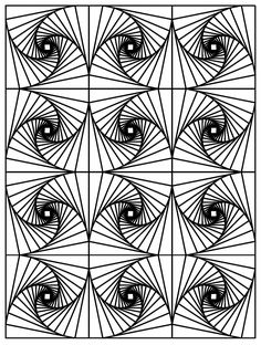 free coloring pages com printable - optical illusion art coloring pages optical illusion
