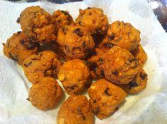 Gateaux piment split pea chilli balls Mauritian street food