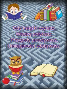 Zachęcam Was Do Czytania Książek Czytanie Książek Nie Musi