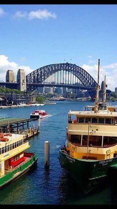 Australia Living, Sydney Australia, Australia Travel, Places To Travel, Places To Go, Native Country, France, Sydney Harbour Bridge, South Wales