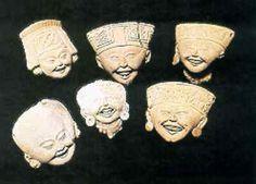 Caritas sonrientes. Historia de Mexico l Teotihuacanos, Mexicas, Porfiriato, Olmecas: Los totonacas