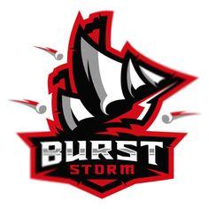 Разработан логотип для кибер спортивной команды- Burst storm