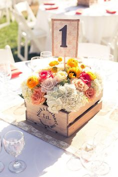 camarillo wedding at maravilla gardens from love light images, mini wood box wooden crates