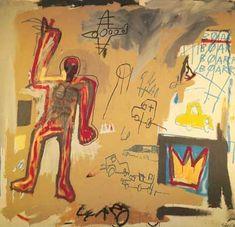 Basquiat Painting Bas20 | Pinturas al Oleo | Ming Gallery Jean Michel Basquiat, Basquiat Paintings, Artist Bio, Oil Painting Reproductions, Renoir, American Artists, Art Oil, Van Gogh, Pop Art