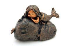 $13.99 Amazon.com: Top Collection Enchanted Story Fairy Garden Little Mermaid on Rock Outdoor Statue: Patio, Lawn & Garden