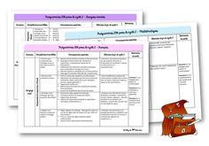 Nouveaux programmes 2016 au cycle 2 Plus School Organisation, Teacher Organization, Curriculum, Homeschool, Voice Levels, Cycle 2, New Program, School Classroom, Primary School