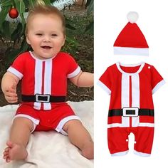 We are delighted to bring you our newest range of goodies.   Like and Tag if you like this Christmas Themed Baby Rompers Short Sleeve Jumpsuit +Hat Santa Costume.  Tag a BFF who would appreciate our huge range of kids clothes! FREE Shipping Worldwide.  Why wait? Get it here ---> https://www.babywear.sg/new-christmas-baby-clothes-set-baby-rompers-toddler-infant-boys-short-sleeve-jumpsuit-hat-santa-costume/   Dress up your baby in quality clothes today!    #rompers