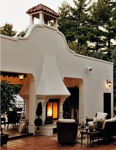 Spanish style homes – Mediterranean Home Decor Hacienda Style Homes, Spanish Style Homes, Spanish House, Spanish Colonial, Spanish Exterior, Spanish Revival, Outdoor Rooms, Outdoor Living, Outdoor Photos