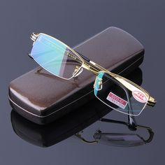 6dc703593881 check price high quality reading glasses men aspheric hard resin coating  lenses reader eyeglasses half  gold  eyeglasses