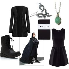 harry potter severus snape - I actually like this outfit. I already have this dress! lol