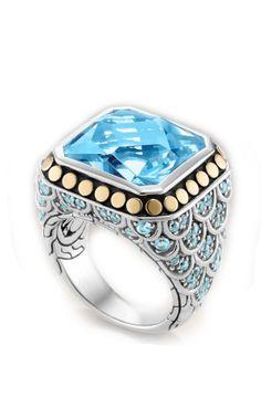 Awesome John Hardy rings Source - www.moyerfinejewelers.com