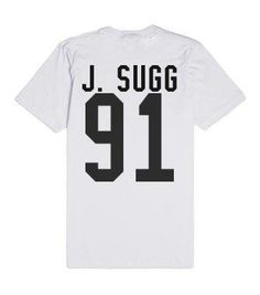 joe sugg-Unisex White T-Shirt from Skreened. Saved to clothing. Shop more products from Skreened on Wanelo.