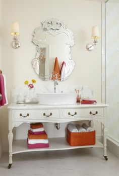 Beautiful Bathroom Vanity - for one day when I have a grown-up house sans kiddos