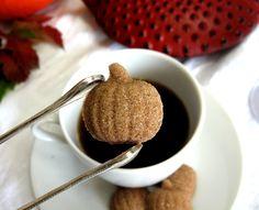 A festive touch for after dinner coffee. Pumpkin Pie Spiced Pumpkin Shaped Sugar Cubes 3 Dozen. $10.00.