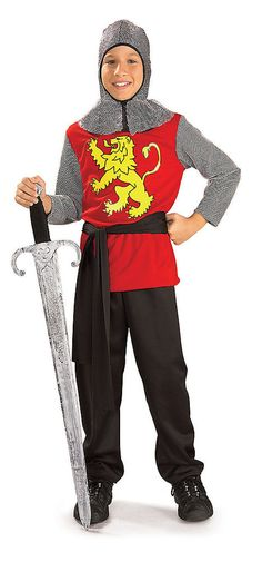 Check out our huge selection of medieval knight costumes for Halloween. These knight costumes make amazing Renaissance Faire costumes as well as Halloween costumes for kids or adults. Knight Costume For Kids, Medieval Knight Costume, Renaissance Costume, Medieval Dress, Medieval Party, Costume Garçon, King Costume, Boy Costumes, Halloween Costumes For Kids
