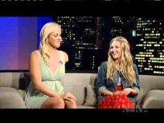 AnnaSophia Robb and Bethany Hamilton in Tavis Smiley Show (02.04.2011) T... #beach #love #surfer #photooftheday #sunset #wave
