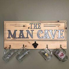 Man cave bar beer sign art wall decor wall art