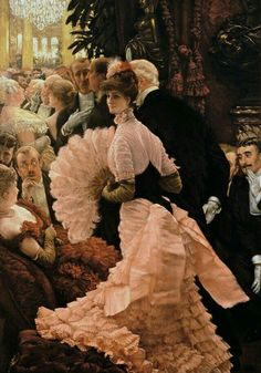 """A woman of ambition""-James Tissot"