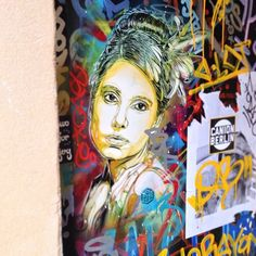 Found another #C215 today. #streetart #streetheart #streetartbarcelona #stencil